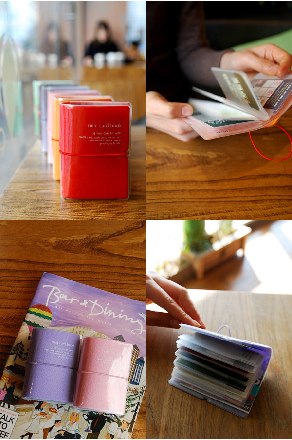 mini card book 22