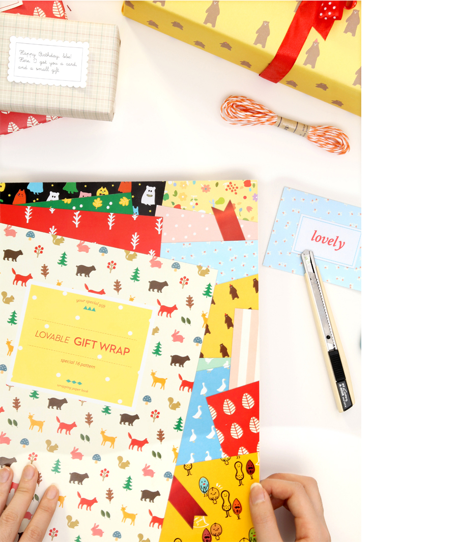 lovable gift wrap 06